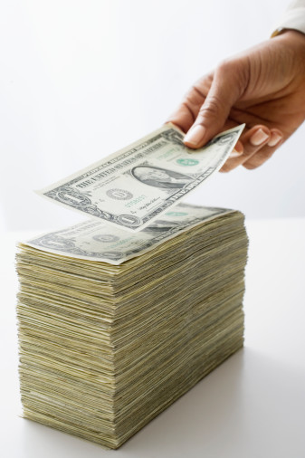Stack of Cash Charlotte North Carolina Divorce Family Law Attorney Lawyer Child Support Alimony.jpg