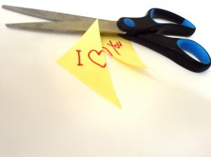 Cut love note Charlotte Divorce Lawyer North Carolina Family Law Attorney