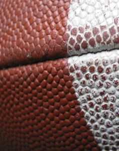 Football closeup Charlotte Family Law Lawyer North Carolina Domestic Violence Attorney