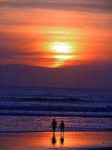 Beach-Walk-Charlotte-Mecklenburg-Divorce-Lawyer-North-Carolina-Family-Law-Attorney-225x300