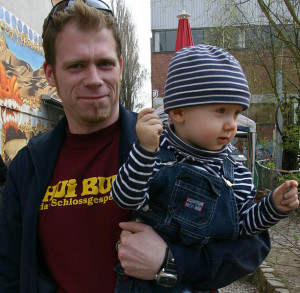 Father with Child Charlotte Divorce Lawyer North Carolina Child Custody Attorney