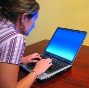 Bad typing posture Uptown Charlotte Divorce Lawyer Mecklenburg Child Custody Law Firm