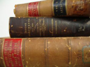 Old Law books Charlotte Divorce Lawyer Mecklenburg Family Law Firm