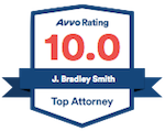 Avvo Rating 10.0 - J. Bradley Smith