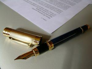 Fancy-pen-Charlotte-Divorce-Lawyer-Lake-Norman-Prenup-Attorney-300x225