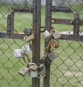 locked-gate-Charlotte-Monroe-Mooresville-Domestic-Violence-Civil-Harassment-Lawyer-285x300