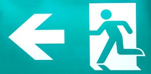 fire-exit-sign-Charlotte-Monroe-Lake-Norman-Divorce-300x148