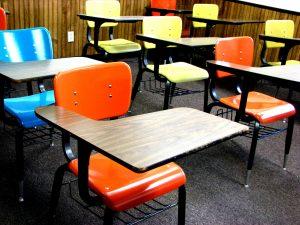 school-desks-Remote-learning-child-custody-Charlotte-Monroe-Mooresville-Lawyers-300x225