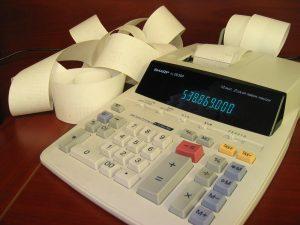 accounting-calculator-Charlotte-Monroe-Mooresville-Alimony-Attorney-300x225