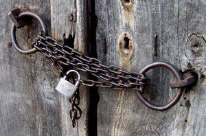 locked-door-Charlotte-Mooresville-Monroe-Divorce-Lawyer-300x198